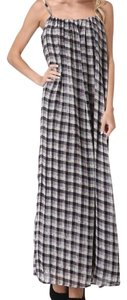 Black, White & Red Maxi Dress by Boho Chic