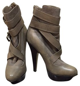 Bebe Taupe Boots