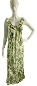 Neiman Marcus Silk Floral Dress