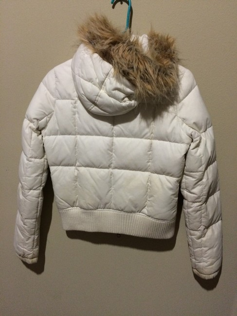 Hollister White Jacket