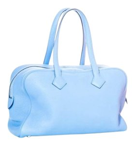 Hermès Hermes Weekend Travel Bleu Paradis Travel Bag