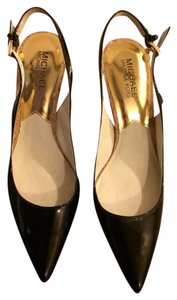 Michael by Michael Kors Black Pumps