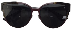 Dior Christian Dior, Wildly Dior P7LY1 Havana Burgundy Metal sunglasses.