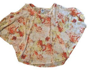 ivy jane Floral Flowy Top Multi Color