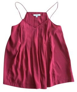 Madewell Vacation Date Night Drape Top Red