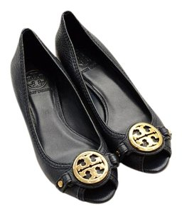 3e953ce73d1f Blue Tory Burch Wedges - Up to 90% off at Tradesy