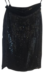 Dolce&Gabbana Skirt Black sequins & Tulle