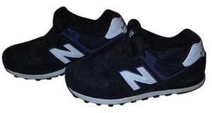 New Balance Black, navy blue, white Athletic