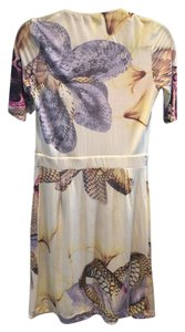 Roberto Cavalli Top Multicolor prints on white base