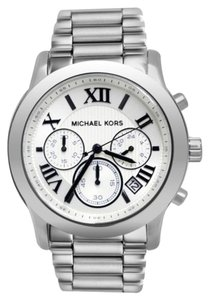 Michael Kors Michael Kors Cooper Silver Tone Chronograph Watch
