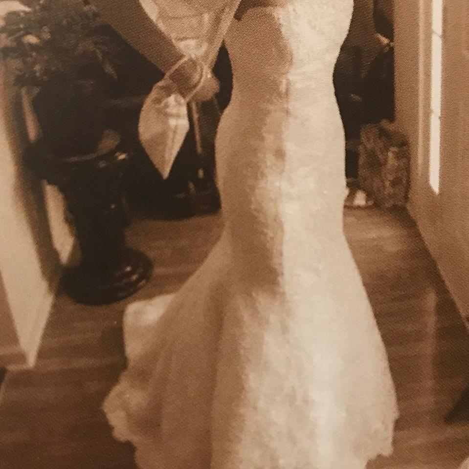 Forever Yours Formal Wedding Dress Size 4 S