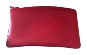 Tiffany & Co. Tiffany & Co. Red Calf Skin Leather NWOT Wallet/Card Case