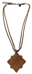 Stephen Yearick STEPHEN DWECK AUTHENTIC NWT GOLD ENGRAVED CLOVER PENDANT NECKLACE