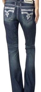 Rock Revival Easy Fit Relaxed Fit Jeans-Medium Wash