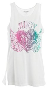 Juicy Couture Cotton Designer Top White