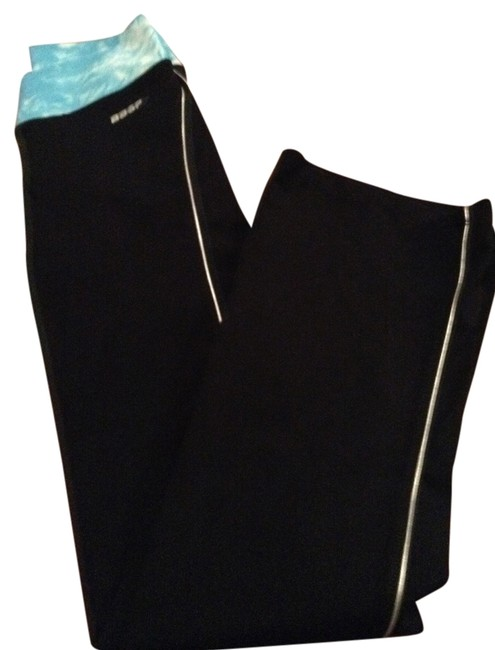Item - Black/Turquoise/White Sport Activewear Bottoms Size 4 (S, 27)