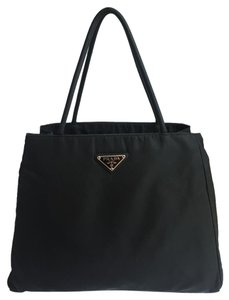 Prada Nylon Tote in Black