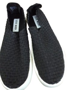 Steve Madden Comfort Elastic Black Athletic