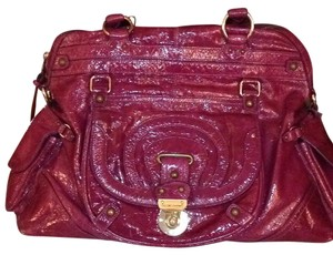 Hayden-Harnett Satchel in Purple/m