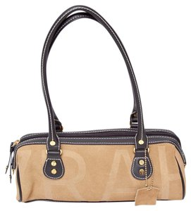 Isaac Mizrahi Suede Leather Shoulder Bag