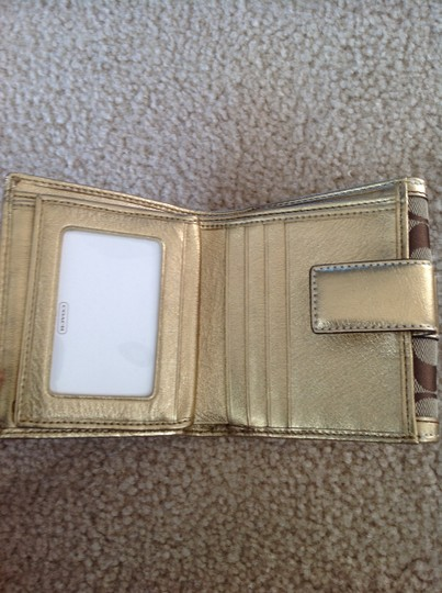 Coach Coach Gold Wallet Image 2