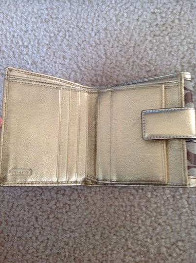 Coach Coach Gold Wallet Image 3