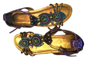 Wanted Purple/multi Sandals