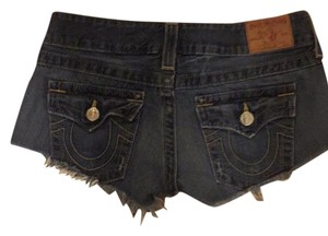 True Religion Cut Off Shorts Denim wash