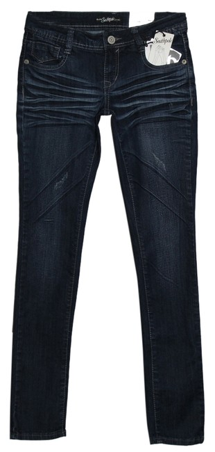 South Pole Collection Skinny Jeans-Distressed