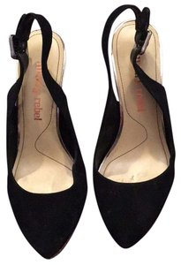 Luxury Rebel Black and tan Pumps