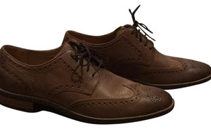 Cole Haan Brown Milled Flats