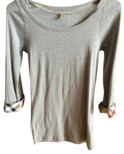 Burberry T Shirt Gray