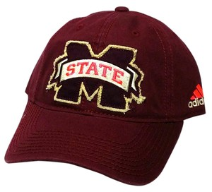 adidas Mississippi State Bulldogs EZ54Z Unstructured Slouch Retro Maroon Hat Cap
