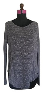 Helmut Lang Assymetrical Chanel Sweater