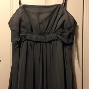 Badgley Mischka Grey Dress