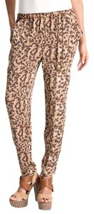 Vince Camuto Skinny Pants Animal Print