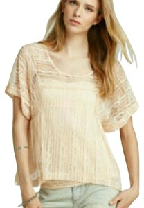 Free People Top light peach