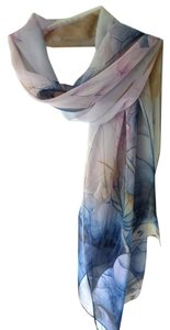 Other Lotus Blossom Chiffon Scarf