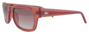 Lacoste Lacoste Clear Red Wayfarer Sunglasses