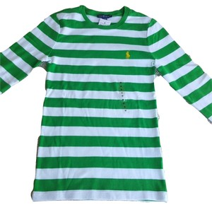 Ralph Lauren Top Green & White