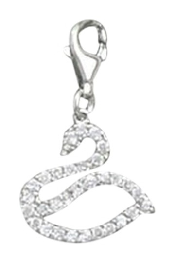 Preload https://img-static.tradesy.com/item/1603285/rhodium-plated-cz-swan-charm-0-0-540-540.jpg
