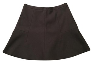 J.Crew J Crew Flare Mini Mini Skirt Black