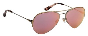 Tory Burch Tory Burch Womens Sunglasses Ty6038 55mm Shiny Gold 106r5