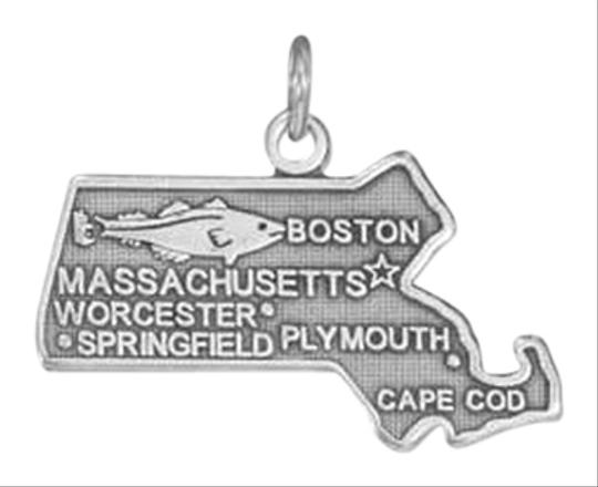 unknown Sterling Silver Massachusetts State Charm