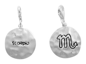 unknown Reversible Zodiac Charm with Lobster Clasp - Scorpio
