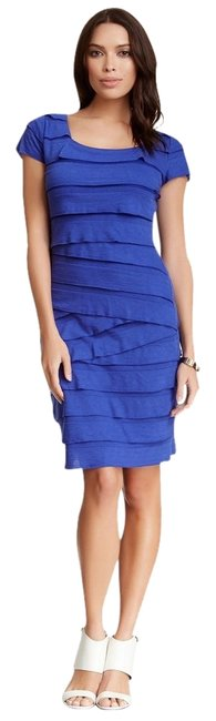 Max Studio short dress Cobalt Tiered Ruffles Sundress on Tradesy