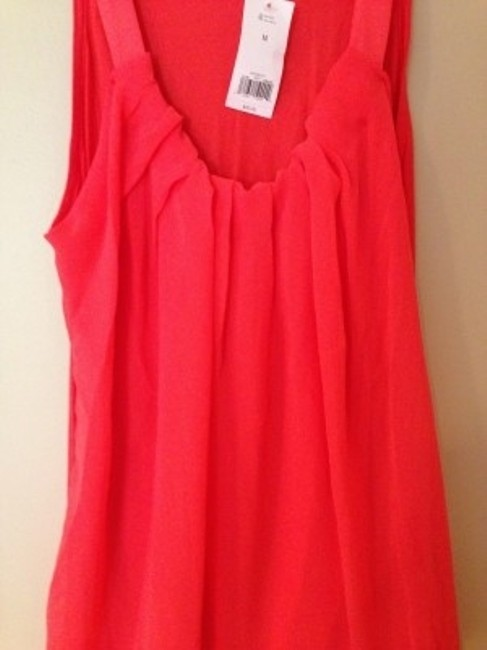 Banana Republic Top Pinkish Orange