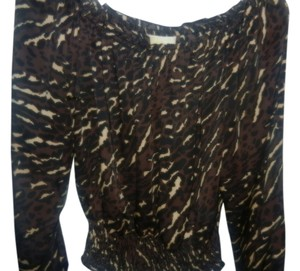 Michael Kors Top Leopard blouse