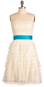 Betsey Johnson Betsy Prom Strapless Dress