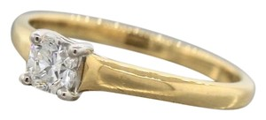 Tiffany & Co. Tiffany & Co. Lucida E VVS1 0.38ct Square Diamond Engagement Ring 18k 750 Gold